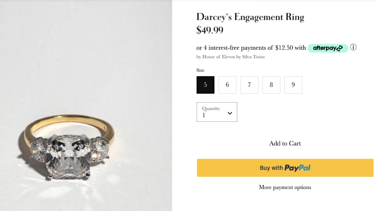 90 Day Fiancé Spoilers: Is That Darcey's Real Engagement Ring For Sale On House Of Eleven?
