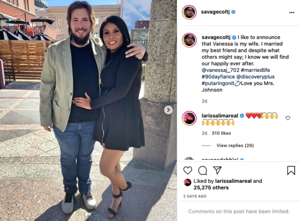 90 Day Fiancé Colt Johnson and Vanessa Guerra Tie The Knot - Is She Pregnant?