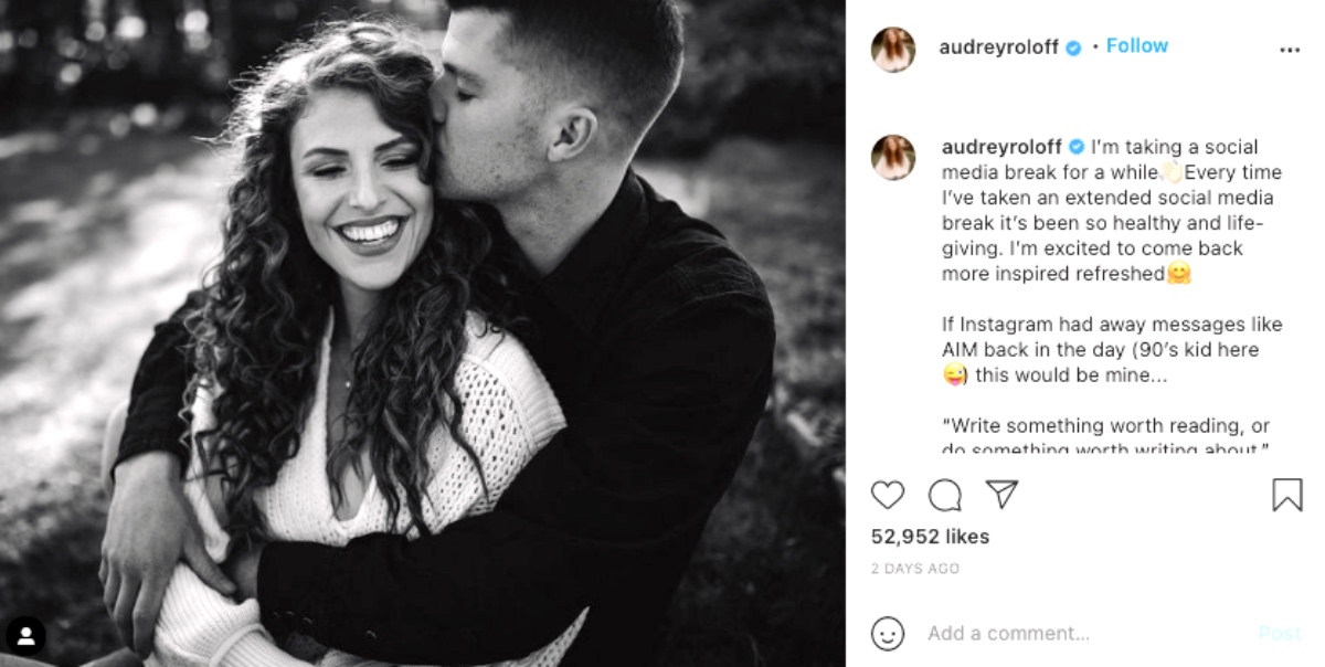 Audrey Roloff Called Out For Overusing Filters: 'Two Different People'