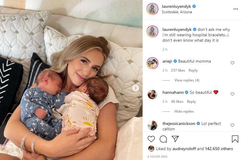 Bachelor Fans Amazed At Lauren Luyendyk Post-Birth Appearance