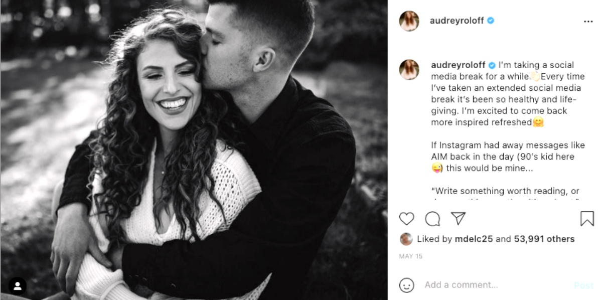 Wait, Did Audrey Roloff Completely Ditch Social Media?