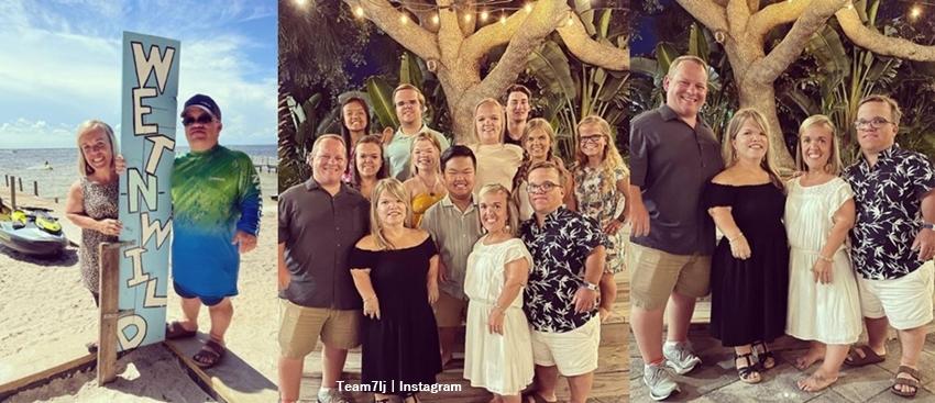 7 Little Johnstons Family Enjoys A Break In Florida