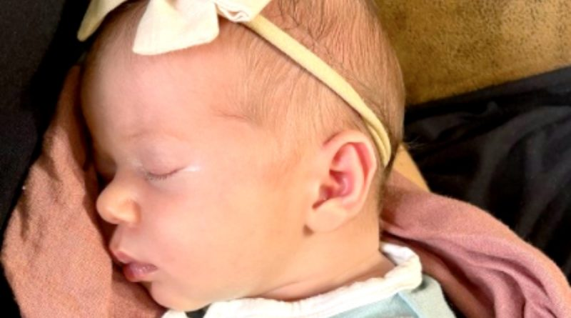 Counting On Spoilers: Jessa Duggar Shares Picture Of Baby Fern At 2 Weeks Old