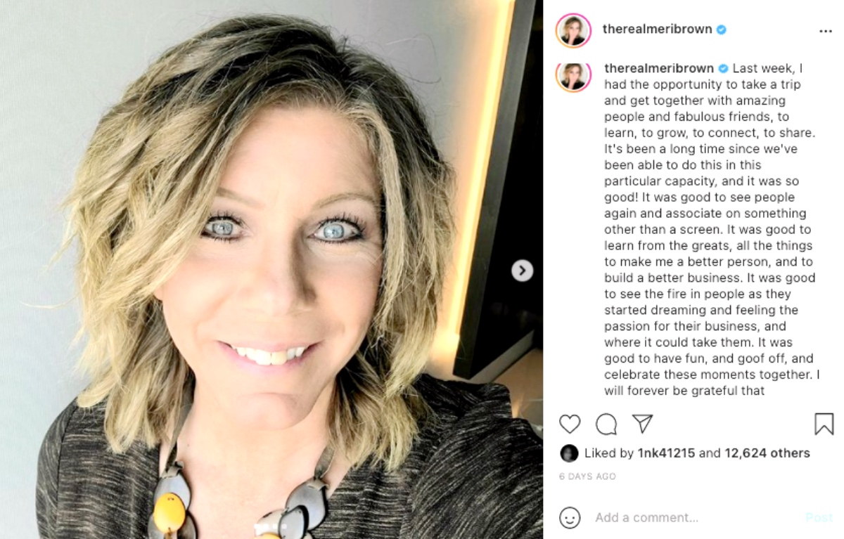 Sister Wives Star Meri Brown Drops Hint on Show's Future