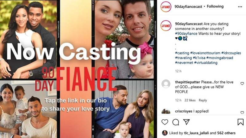 90 Day Fiance Casting Call Brings Hope For New Faces