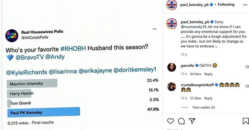 RHOBH Season 11 Who Is The Most Popular Husband